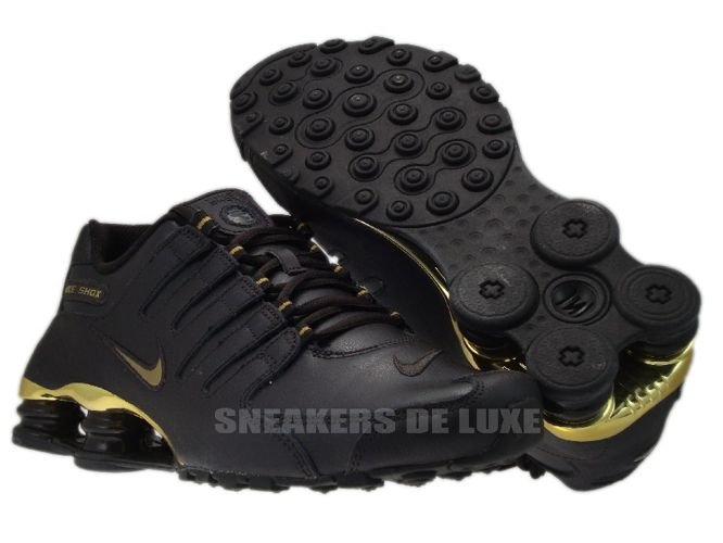 the best attitude e789c ee1ad 378341-200 Nike Shox NZ EU Velvet Brown / Metallic Gold ...