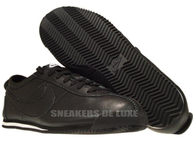 sale retailer aaab9 f89d9 australia 487777 010 nike cortez classic og leather black black white 42ed3  b0f48