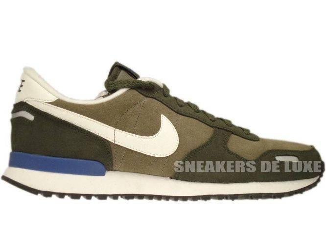69ddcf613b1a 532495-340 Nike Air Vortex Leather Steel Green Cargo Khaki Dk Royal Blue ...