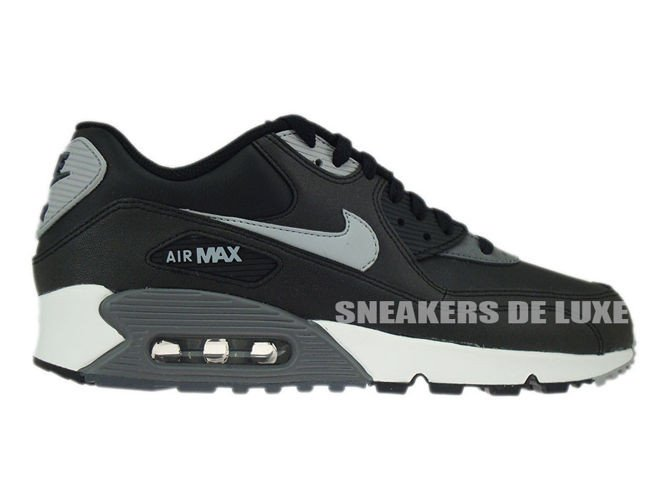 f04d5b41c9 537384-003 Nike Air Max 90 Essential Black/Silver-Dark Grey-Black ...