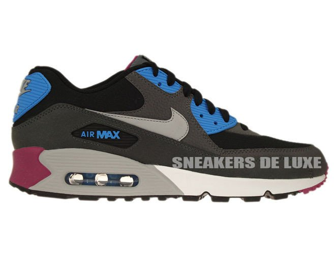 buy online 588e9 eeaf1 537384-009 Nike Air Max 90 Essential Black Wolf Grey-Anthracite-White ...