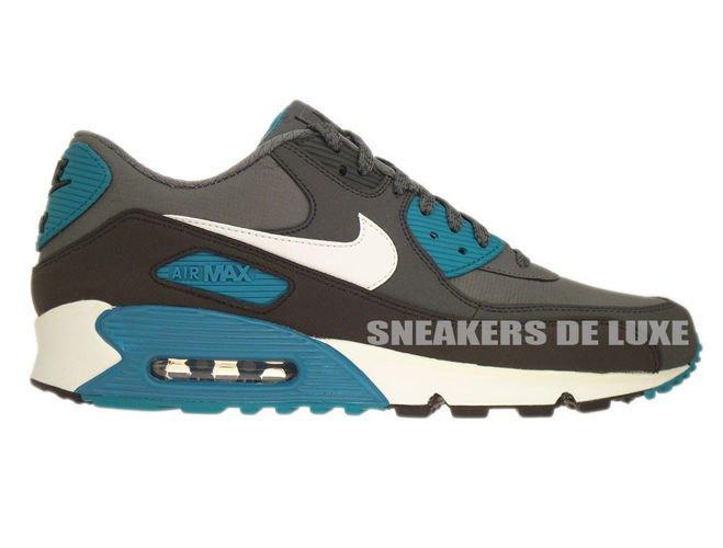 super popular 6f5ec 1f2d6 537384-010 Nike Air Max 90 Essential Dark Grey White-Anthracite-Tropical ...
