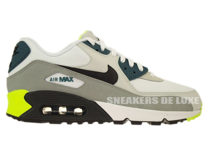 878ecb0367 537384-105 Nike Air Max 90 Essential White/ Black Prune-Light Base Grey ...