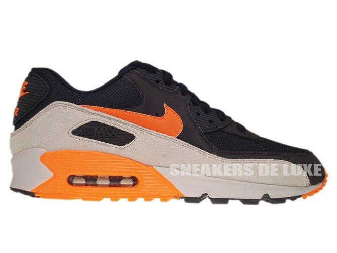 nike air max 90 orange and grey