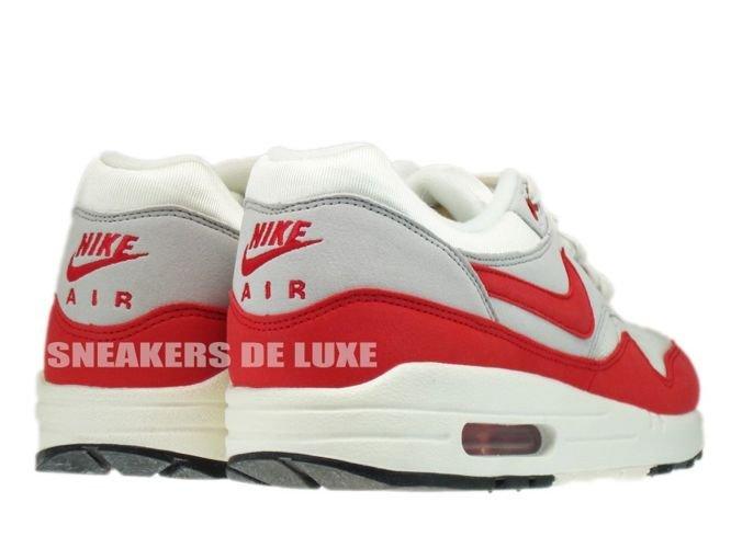 more photos ae514 de1fb ... 554717-160 Nike Air Max 1 OG Sail University Red-Neutral Grey- ...