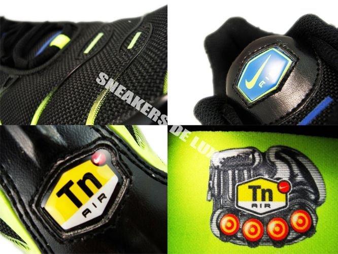 604133 083 Nike Air Max Plus TN 1 BlackBlue Spark Volt