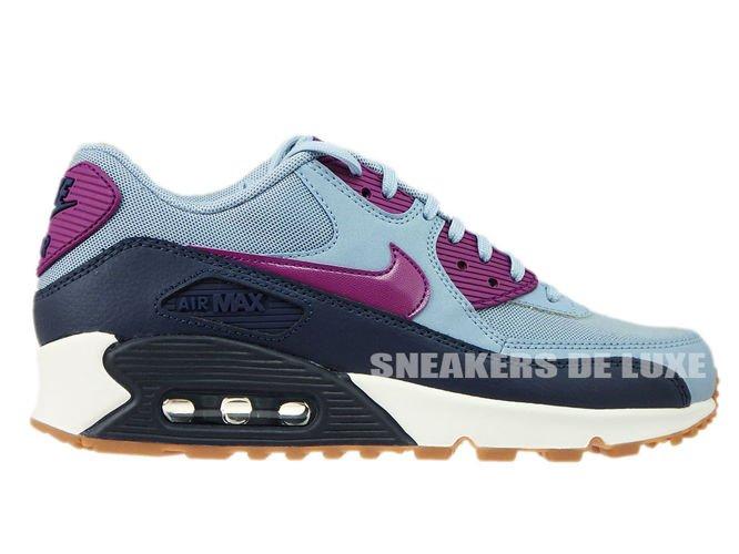 20287ca0a6 616730-403 Nike Air Max 90 Blue Grey/Bright Grape 616730-403 Nike ...