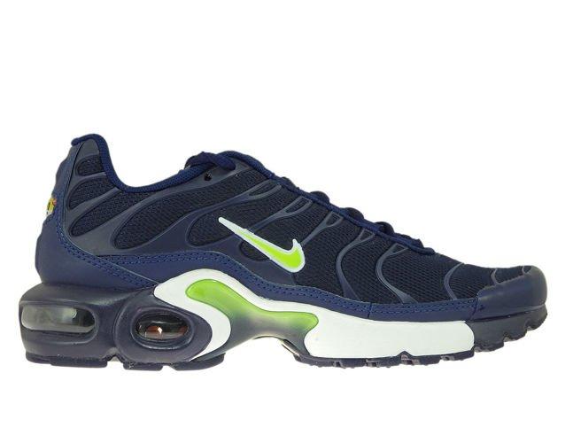 new product e632b 5013d 655020-421 Nike Air Max Plus TN 1 Midnight Navy/Volt-Blue-Void ...