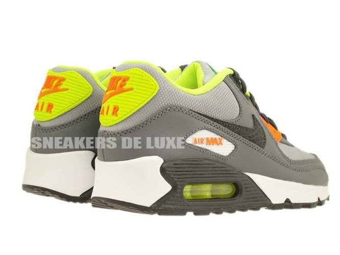 On Sale Online Women Nike Air Max 90 White Anthracite Grey