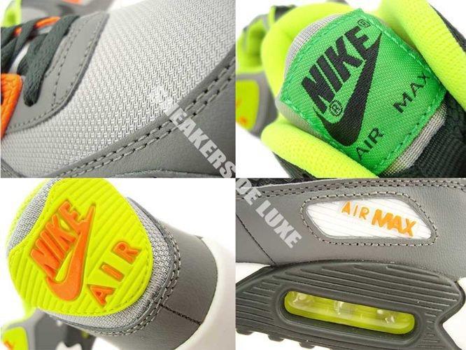 Nike Air Max 90 AnthraciteYellow Black