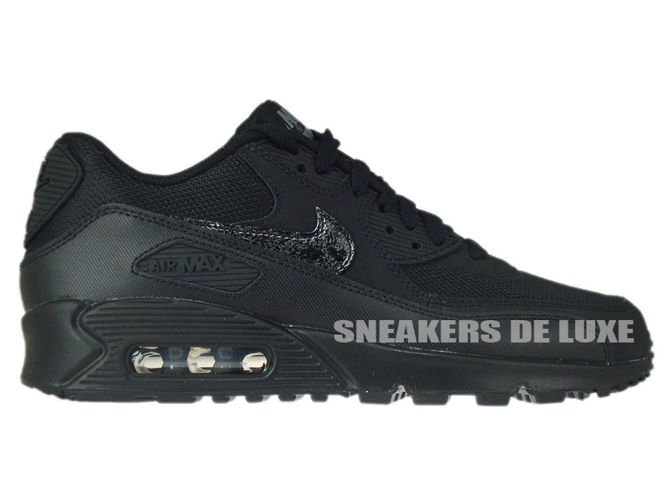 huge selection of a151d f9812 724824-001 Nike Air Max 90 Black   Black - Cool Grey ...