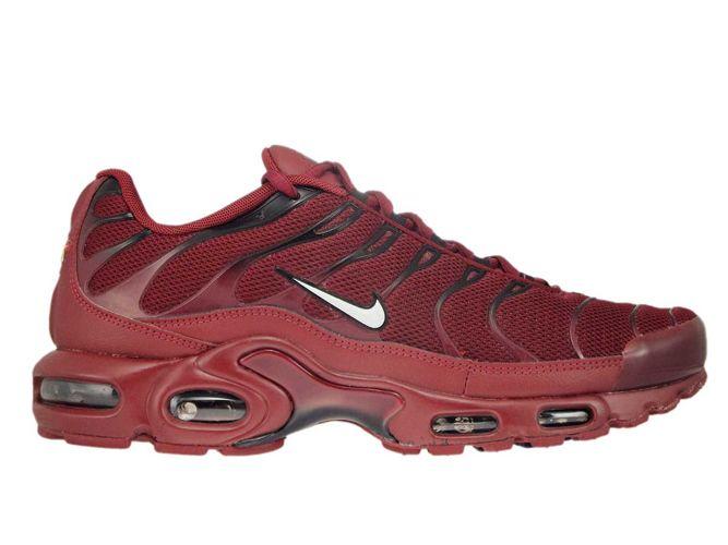 0878dcc6bf 852630-602 Nike Air Max Plus TN 1 Team Red/White-Black 852630-602 ...