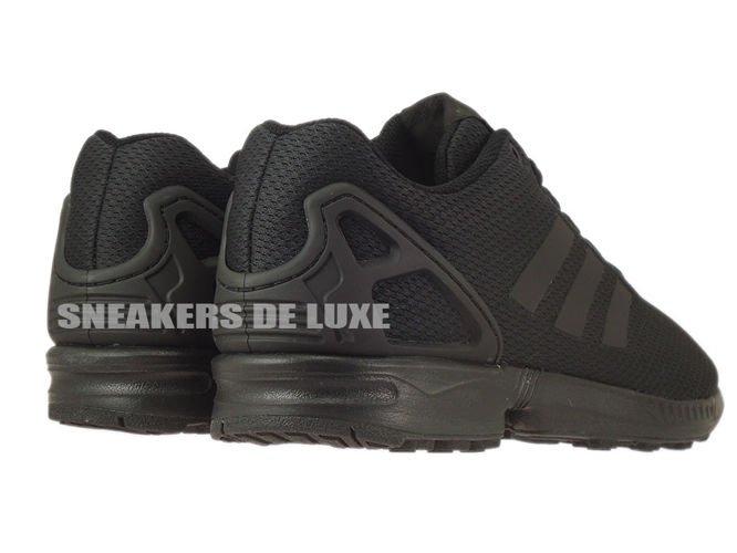 huge discount cbb1a e232a hot adidas zx flux black dark grey 88500 10335
