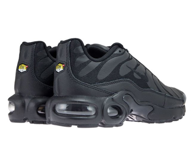 AO5432 001 Nike Air Max Plus TN 1 BlackBlack Black AO5432