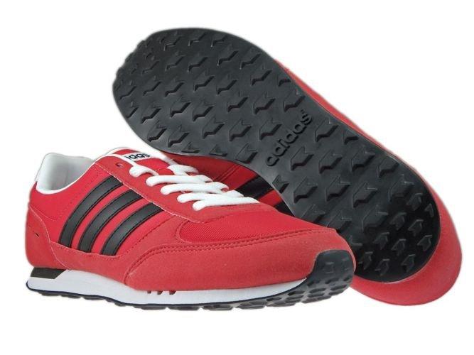 adidas Herren Neo City Racer Turnschuhe, rot