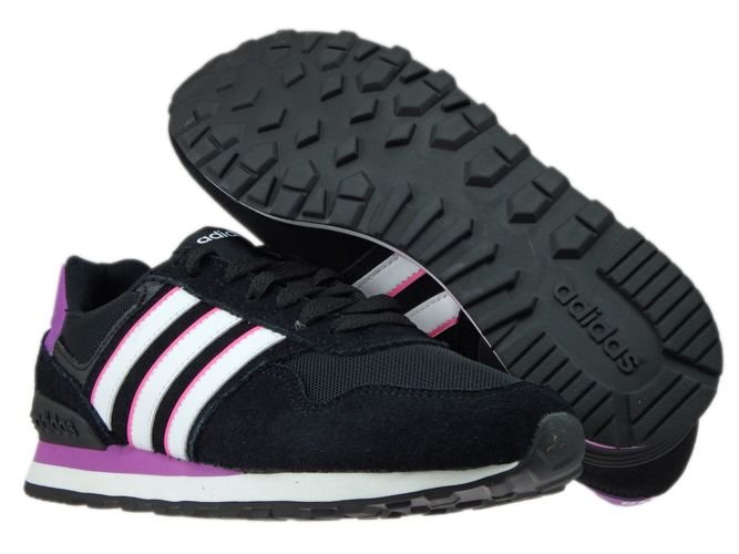 uk availability 2d428 7cf99 ... AW4932 adidas neo 10K W Core Black WhiteShock Purple ...