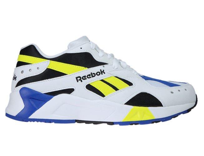cf6c03c9a524d6 CN7840 Reebok Aztrek White   Black   Cobalt   Yellow CN7840 Reebok ...