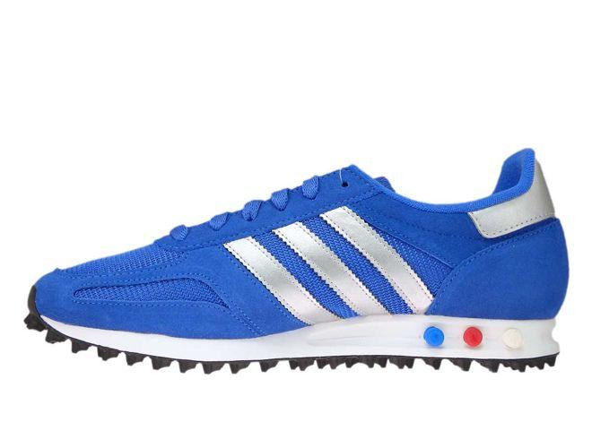 b0fc6d1e08125 CQ2279 adidas LA Trainer Hi-Res Blue Metallic Silver CQ2279 adidas ...