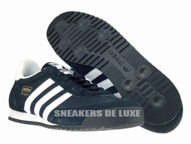 arquitecto Polinizador Encarnar  G16025 adidas Dragon core black / white / gold met. G16025 adidas Originals  \ mens