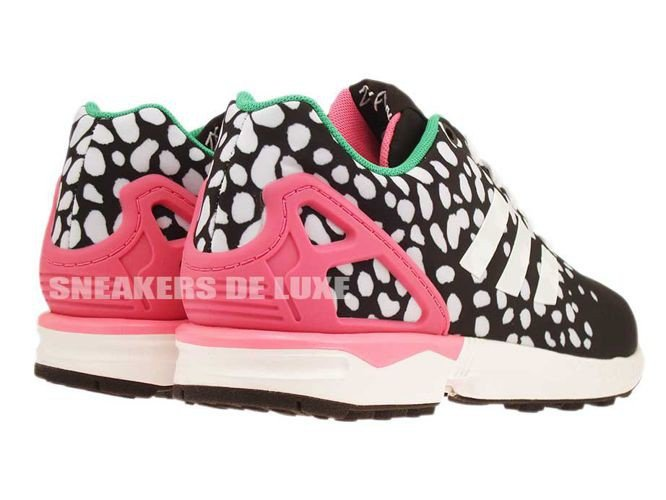 2adada95f ... coupon m19455 adidas zx flux core black ftwr white semi solar pink  9ea14 3d1cf