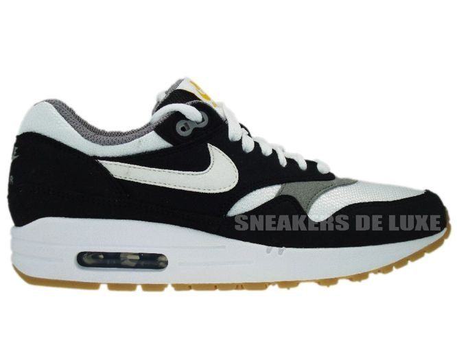 finest selection eedc2 185a6 ... Shoes  Nike Air Max 1 Black White-Light Charcoal Gum Light 319986-008 .