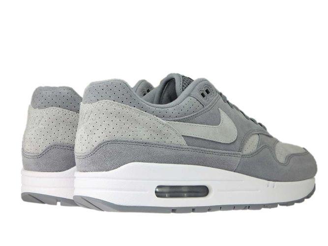 Nike Air Max 1 Premium 875844 005 Cool GreyWolf Grey White