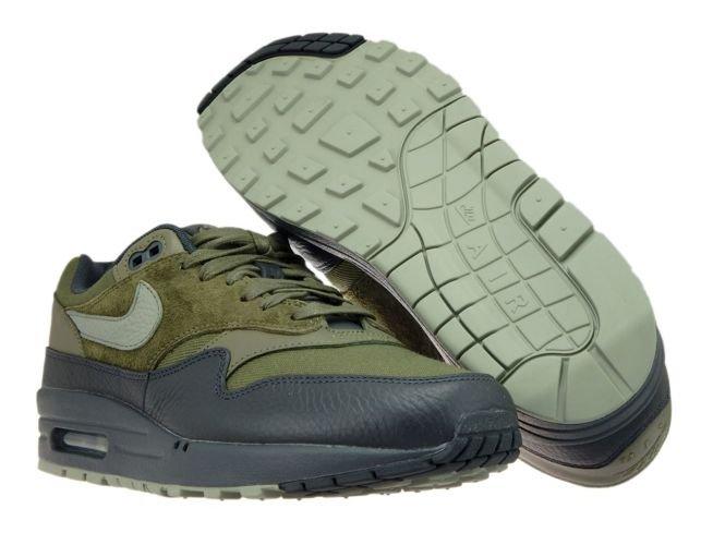 more photos 433a5 41769 ... Nike Air Max 1 Premium 875844-201 Medium Olive Dark Stucco ...