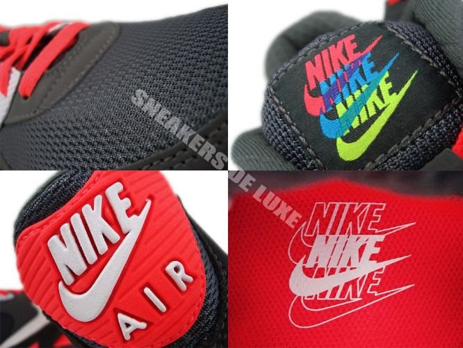 best service 168a7 60b30 ... Nike Air Max 90 325018-046 Metallic Dark Grey Pink