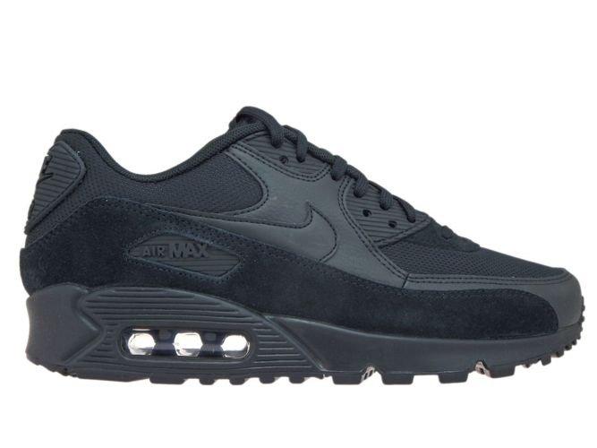 38aa5f8e9fae Nike Air Max 90 325213-043 Black Black-Black 325213-043 Nike   womens