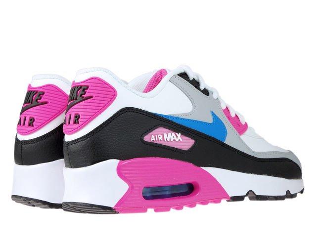 Nike Air Max 90 LTR 833376 107 WhitePhoto Blue Black 833376