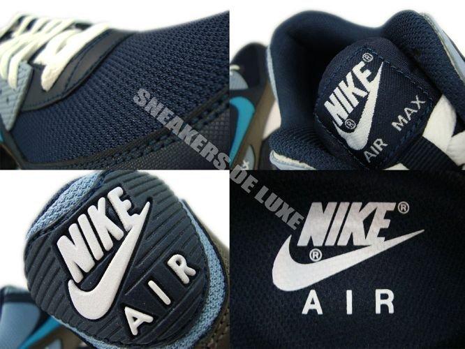 Nike Air Max 90 ObsidianTurquoise Grey White 325018 415