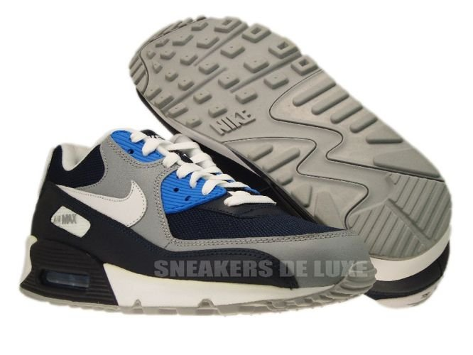 new arrival 0844a 92d73 ... Nike Air Max 90 Obsidian Wolf Grey-Photo Blue 325018-419 ...