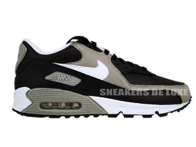 3a10ee67d5 Nike Air Max 90 Premium Black/White-Medium Grey 333888-008 333888 ...