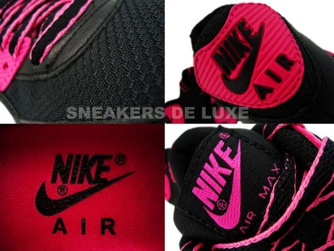 best service f2ba8 13960 Nike Air Max 90 Premium LE Black/Vivid Pink 375572-061 375572-061 ...