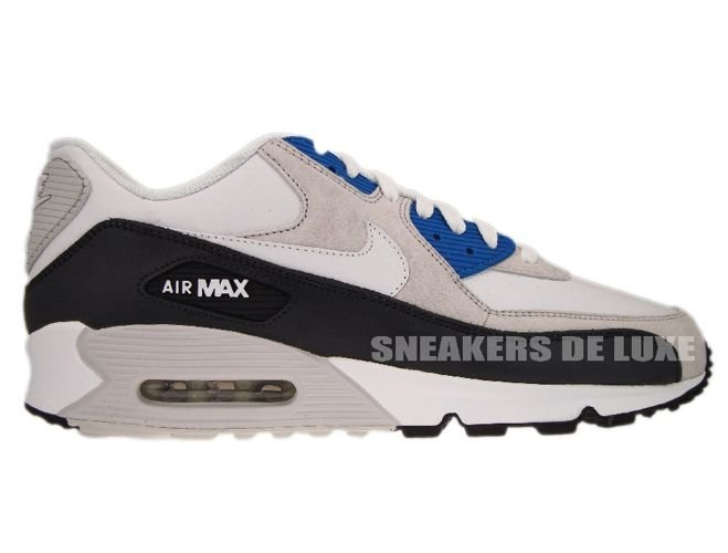 air max 90 grey and white