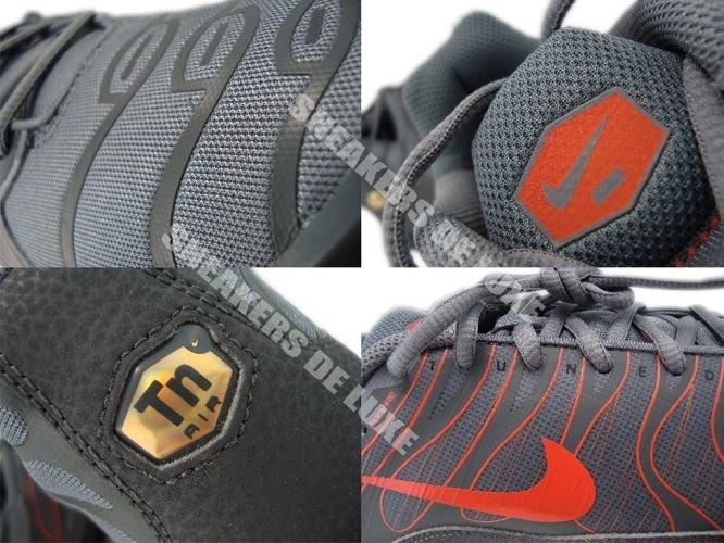brand new 12d33 543e4 Nike Air Max Plus TN 1.5 Cool Grey/Team Orange-Dark Grey ...