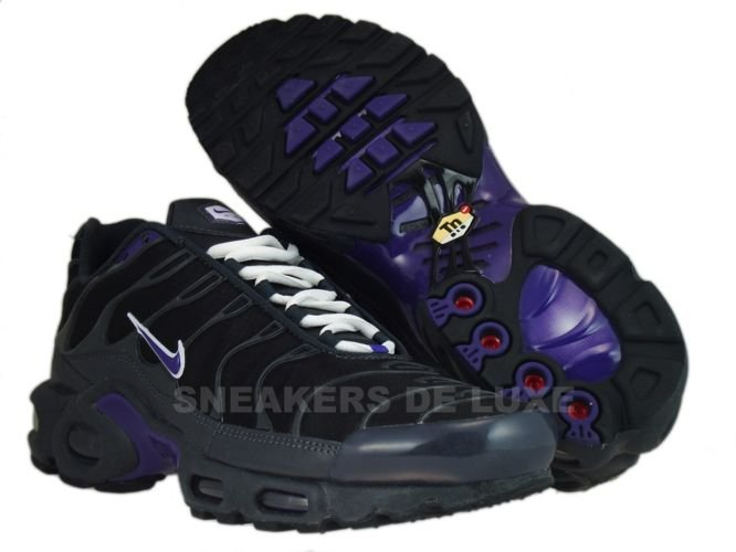 quality design de1c2 b2c55 Nike Air Max Plus TN 1 Anthracite/Club Purple-Black-White ...