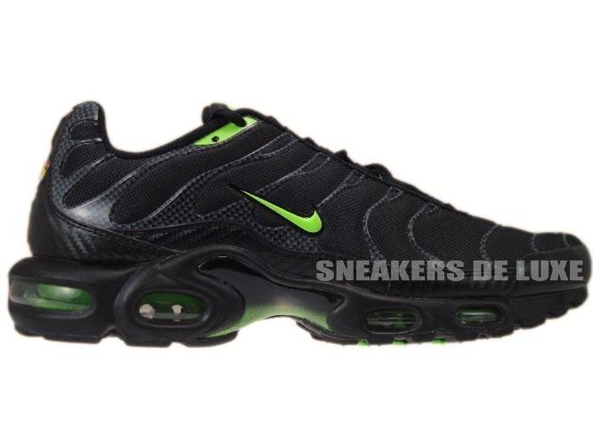 huge discount 364f4 464c6 Nike Air Max Plus TN 1 Black/Electric Green 604133-040 Nike ...