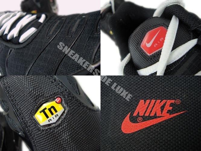 Nike Air Max Plus TN 1 Black/University Red-White 605112-068 Nike ...