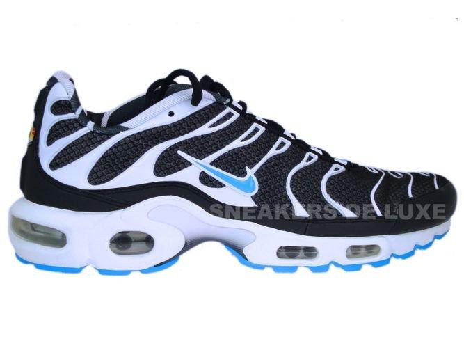 Nike Air Max Plus TN 1 Black/Vivid Blue-White 604133-944 Nike \ mens  
