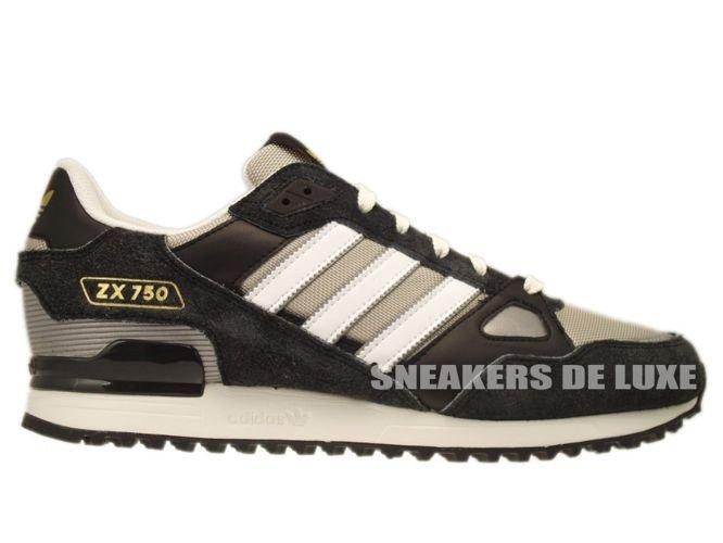 Q23654 Adidas ZX 750 Originals BlackCollegiate Silver