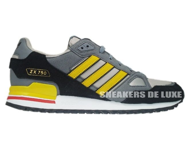 1432b3410be5 Q23657 Adidas ZX 750 Originals Colsil Sunshi Black Q23657 adidas ...