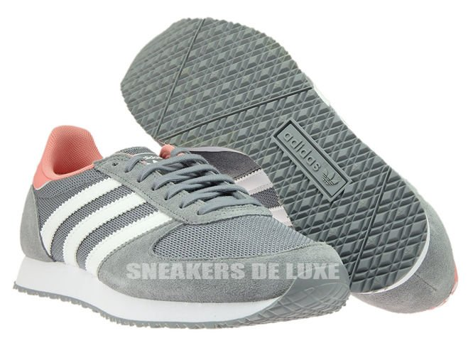 outlet store 04e61 5544d ... norway s74985 adidas zx racer grey ftwr white peach pink 0367f b9e7c