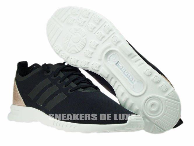 d0520c1263c39 S78962 adidas ZX Flux ADV Smooth Core Black Copper Met. Core White ...