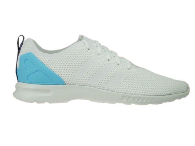 dd3cbdf010c8b S78965 adidas ZX Flux ADV Smooth Core White Core White Blush Blue ...