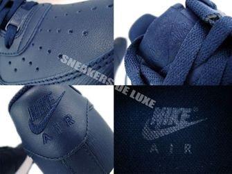 315122-406 Nike Air Force 1 '07 Obsidian/ Obsidian-White