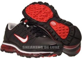 366718-015 Nike Air Max 2009+ Black/White Challenge Red