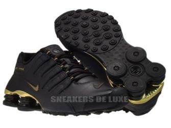 378341-200 Nike Shox NZ EU Velvet Brown / Metallic Gold