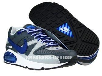397689-009 Nike Air Max Command Dark Grey/Deep Royal-Wolf Grey