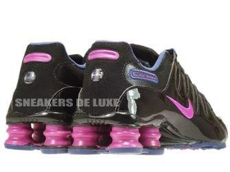 415245-010 Nike Shox NZ Black / Vivid Grape / Blue Recall / Imperial Purple